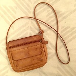 💝 2 for $10: Fossil Small Brown Crossbody